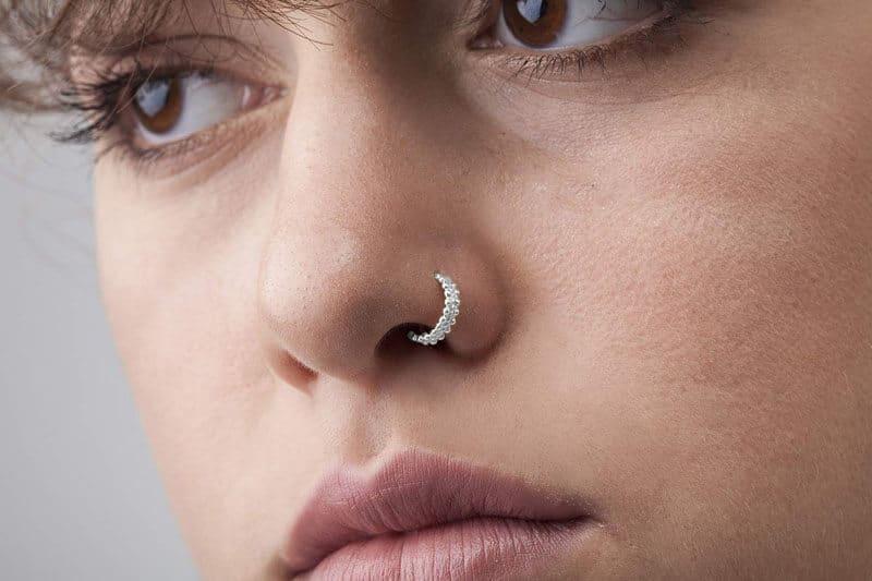 Ideias de piercing no nariz