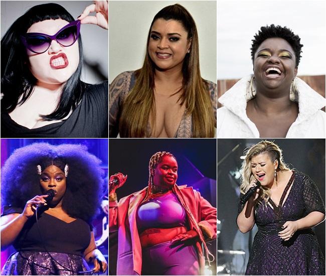 Mulheres gordas que arrasam na música!