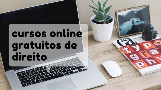 Cursos Online Grátis Com Certificado de Direito