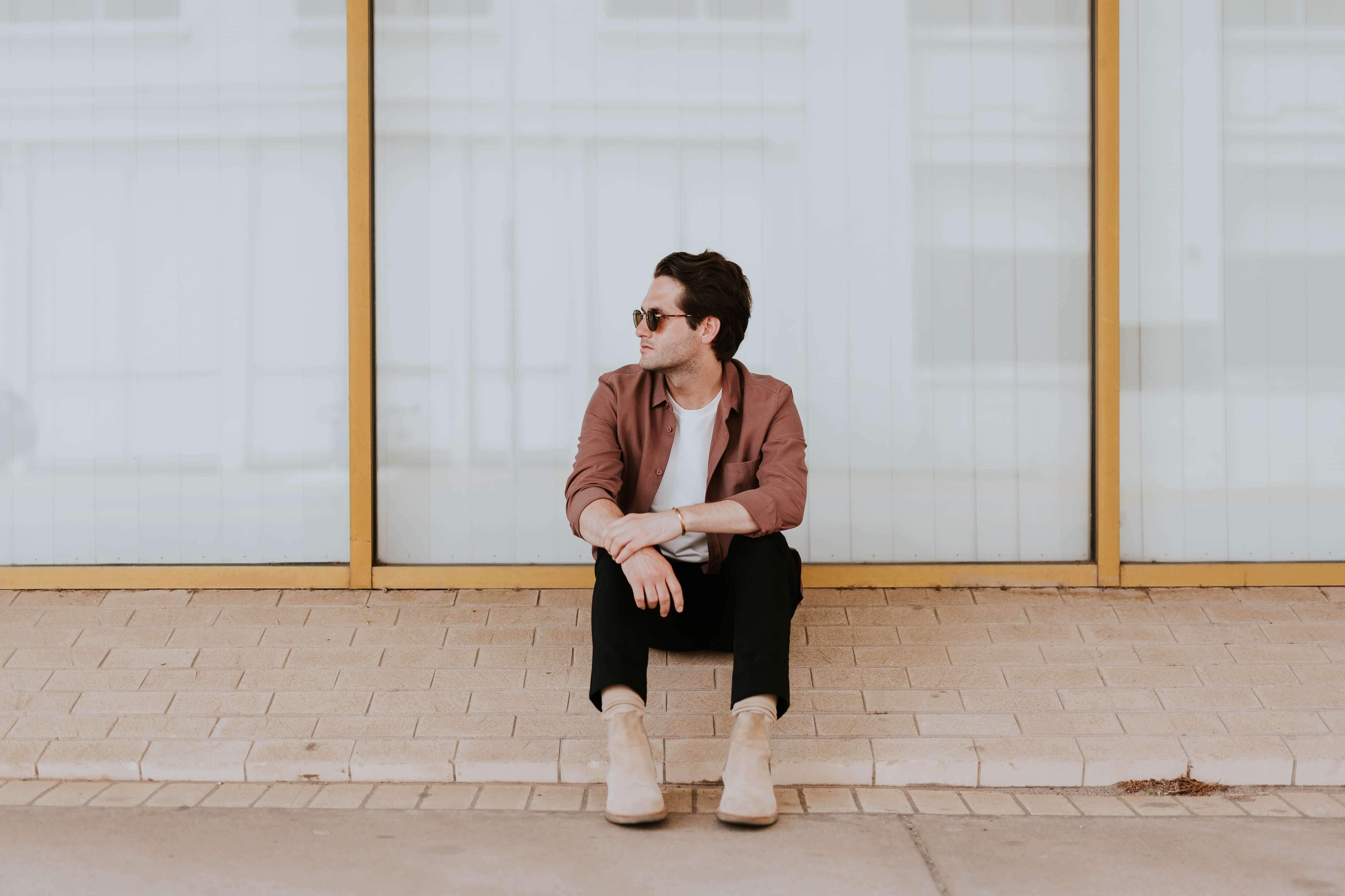 estilo minimalista masculino