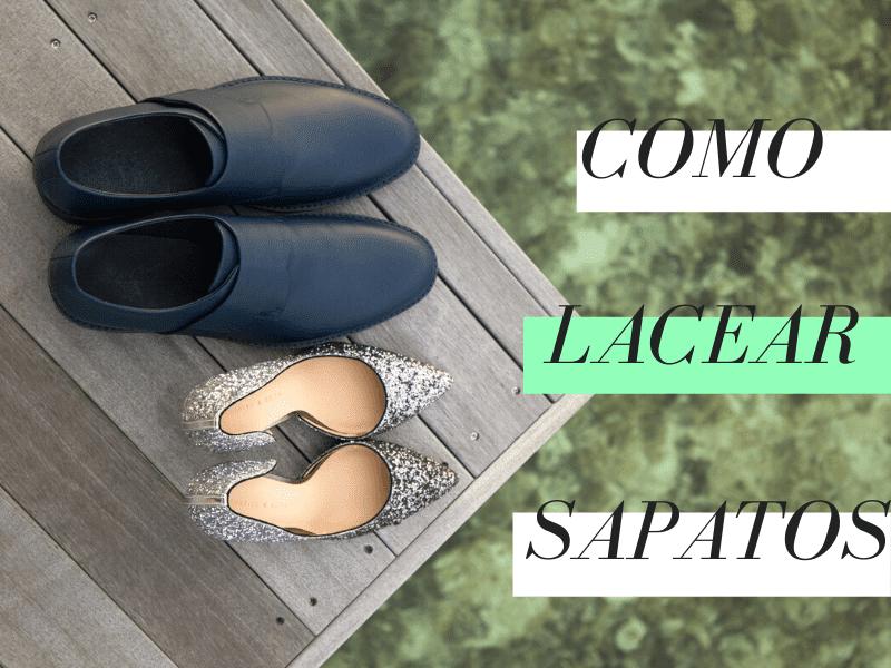 Como lacear sapato