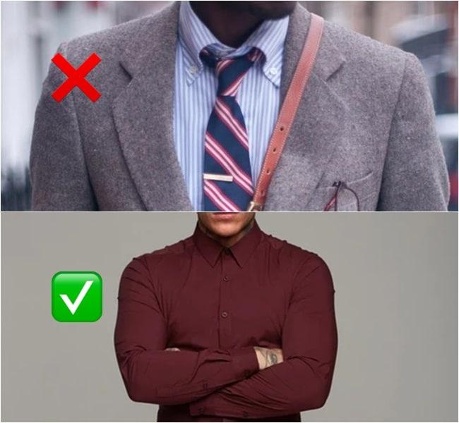 como usar camisa masculina