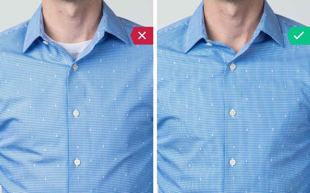 como usar camisa por baixo de camisa