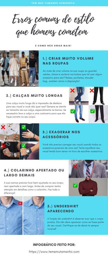 infografico moda masculina