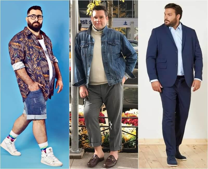 estilo plus size masculino