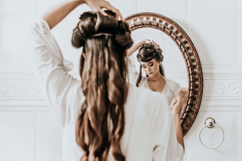 produtos de cabelo e acne