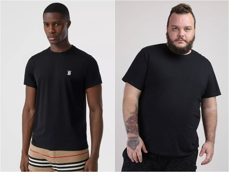camisa preta emagrece