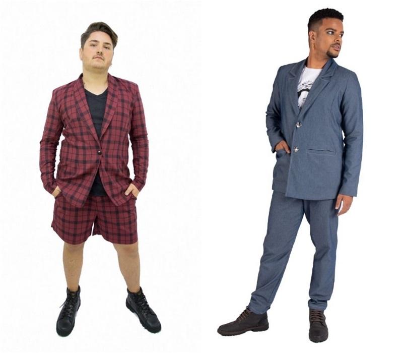 blazer plus size masculino