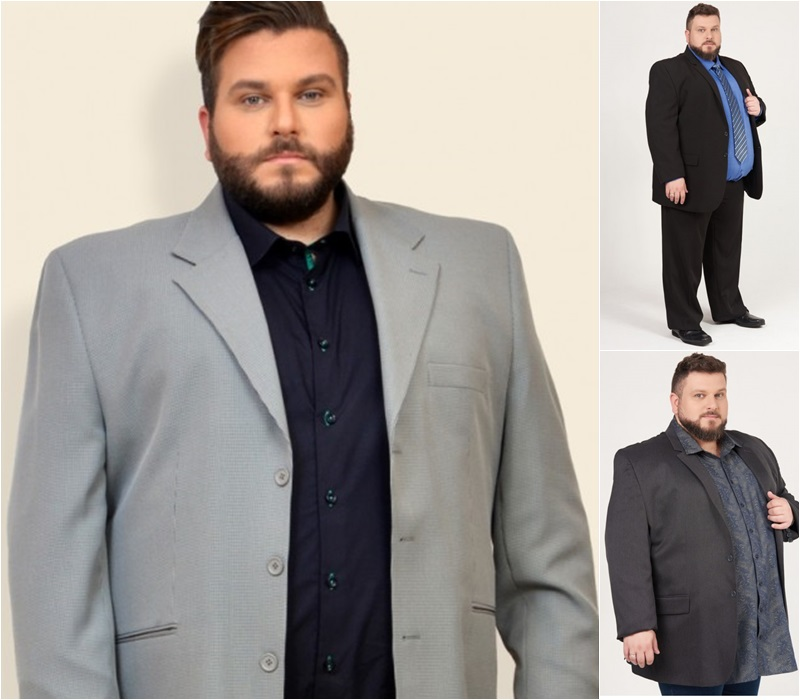 ternos masculinos plus size