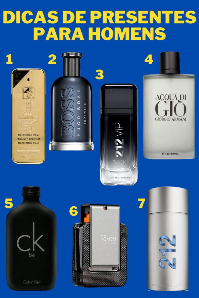 perfume masculino presente