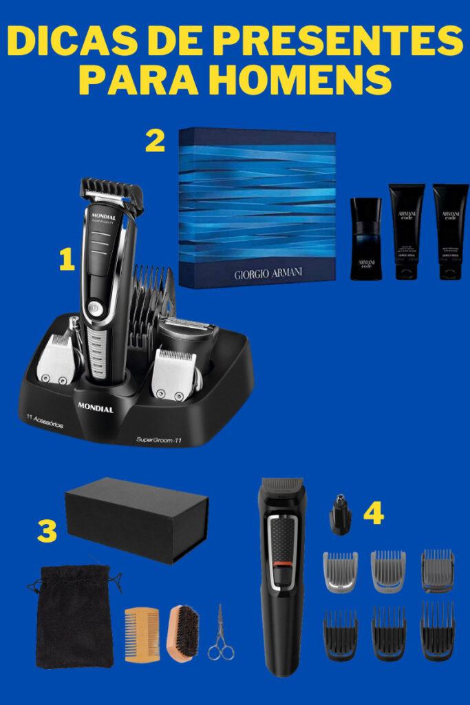 produtos de beleza para homens