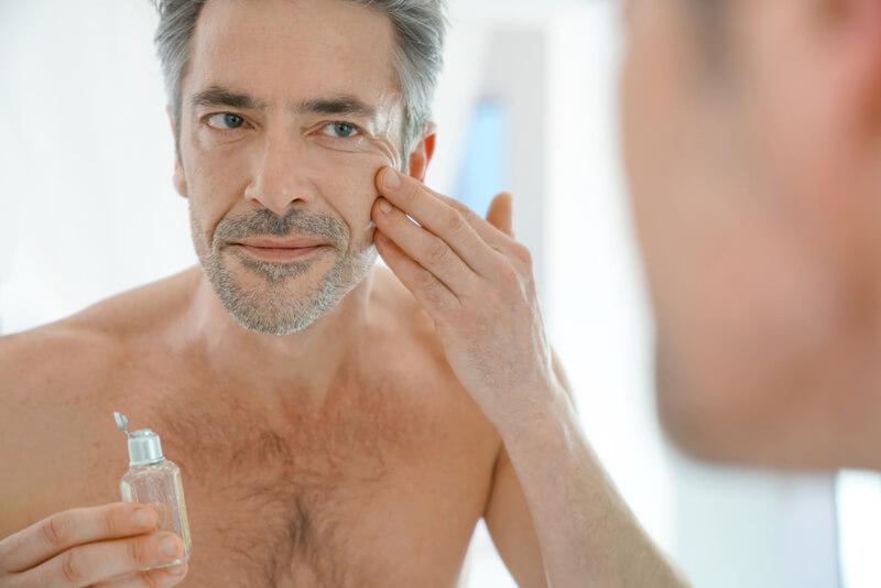 como cuidar da pele masculina